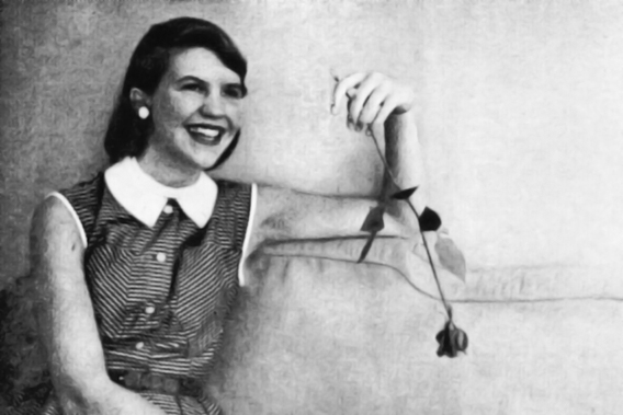 Sylvia Plath on her first day at Mademoiselle.
