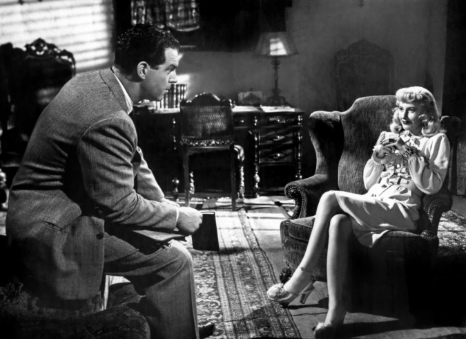 double indemnity opening scene