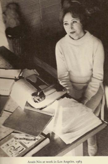 anais nin typewriter