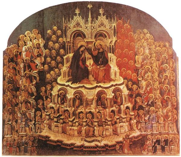 coronation of virgin in paradise