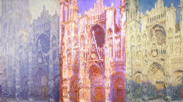monet's cathedrals
